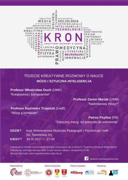 Plakat KRON III